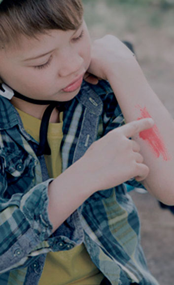 Antiséptico para heridas y desinfectantes
